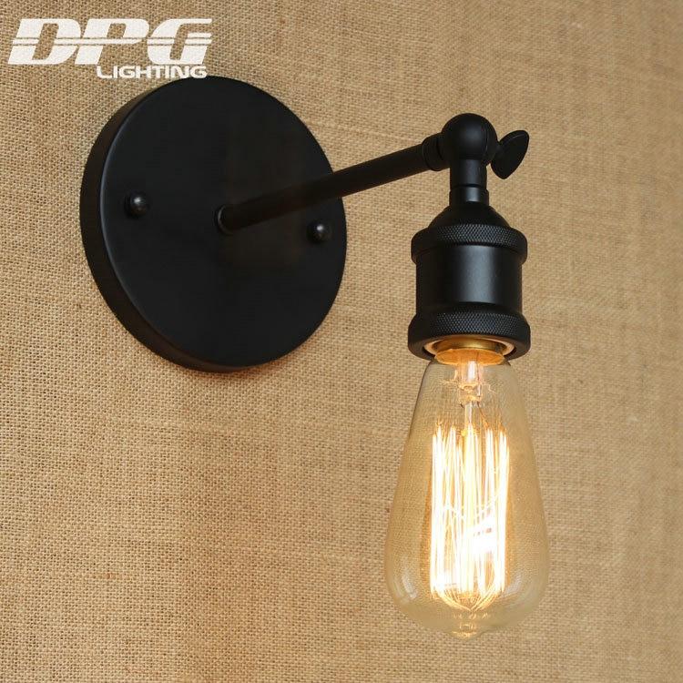Divarlı çıraq lampası Loft Antik yelləncək Uzun qol işıqları - Daxili işıqlandırma - Fotoqrafiya 5