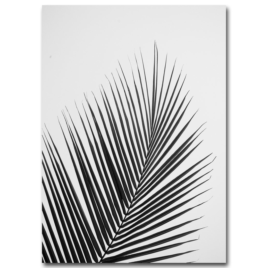 Постер минимализм белый