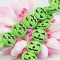 Ornamento Verde Turquía Turquesa Suelta Granos Redondos Jasper DIY Howlite Jade 15 pulgadas de Halloween Regalos Lucky Piedra Oración 15mm joyería