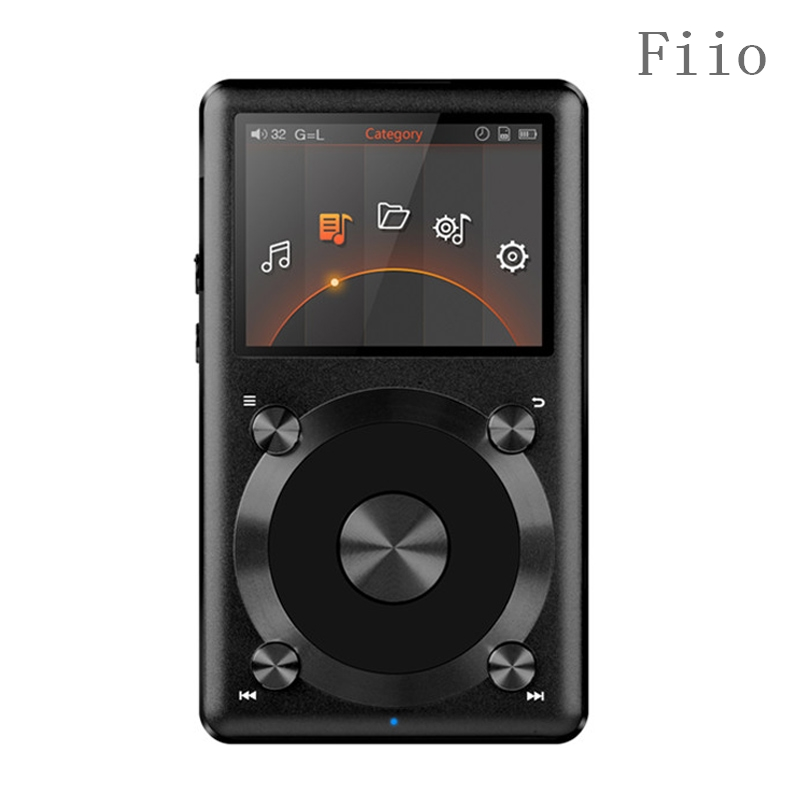 New HIFI Music Player Fiio X3 2nd gen / X3 II / X3K Native DSD Decoding 192k Hz / 24bit Hifi MP3 Music Player High Power Output