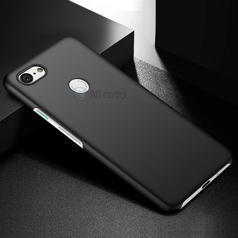 Luxury Plastic Matte Phone Case for Google Pixel 3 Hard PC Slim Matte Skin Protective Back cover cases sFor Google Pixel3 cover  (1)