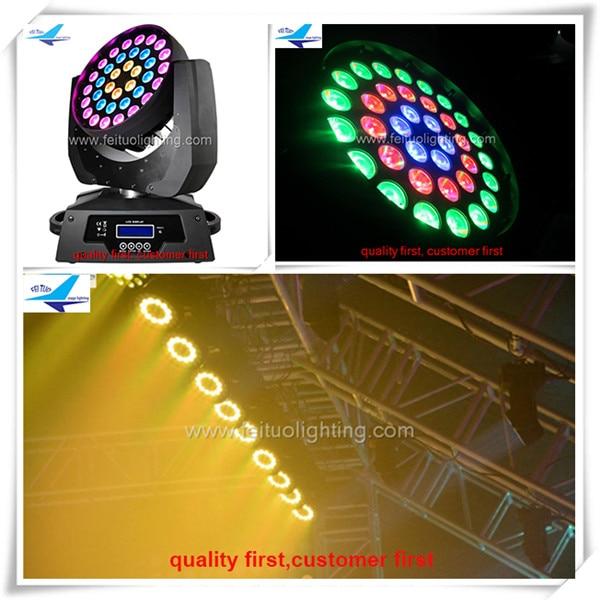 6lot led moving head 36x18w zoom led wash moving head light stage night club disco lighting
