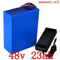 48V 1000W 1500W 2000W Lithium-Batterie 48V 23AH Elektrische Fahrrad Batterie 48V ebike batterie verwenden panasonic zelle mit 5A ladegerät