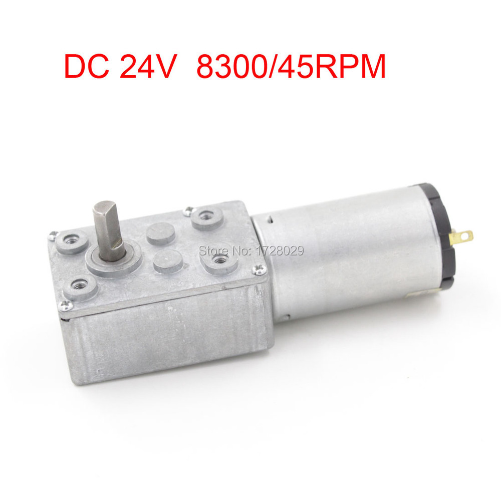 DC 70JSX69-395 DC24V 8300/45RPM Reducing Worm Gear Motor