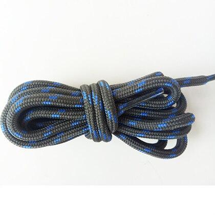 100-160 см спортивные круглые шнурки, 17 цветов, кроссовки, белые шнурки, спортивная обувь, шнурки, спортивная обувь, обувь для скейта, шнурки - Цвет: darkgray blue