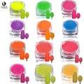 Sara Nail Salon 1.5g Deslumbrante Colorido Açúcar Prego Glitter Pó Poeira Nail Art Tips Sexy Lady Decorações Da Arte Do Prego #500-512