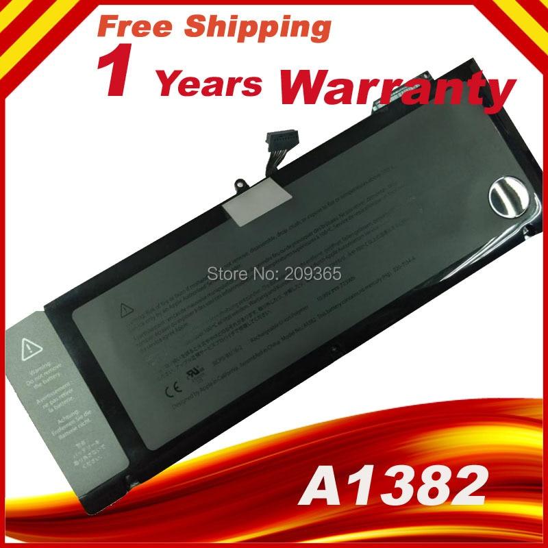 ORIGINAL A1382 Laptop Battery for apple Macbook Pro 15 A1286 in 2011 MC721 MC723