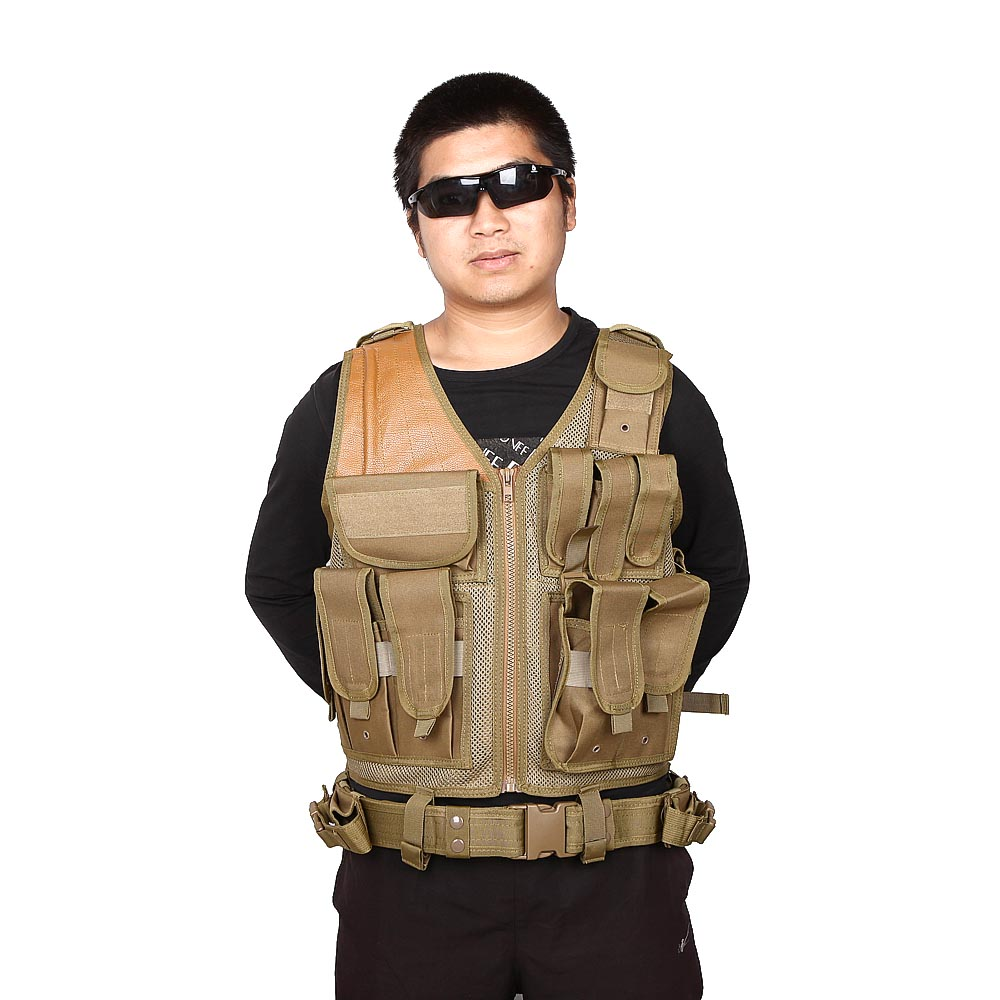 Military Gear Army Safety Clothing SWAT Airsoft Paintball Tactical Hunting Combat Assault Vest Outdoor Training Mesh Waistcoat tactical hunting airsoft paintball hunting combat assault vest outdoor training hunting waistcoat military vest safety clothing