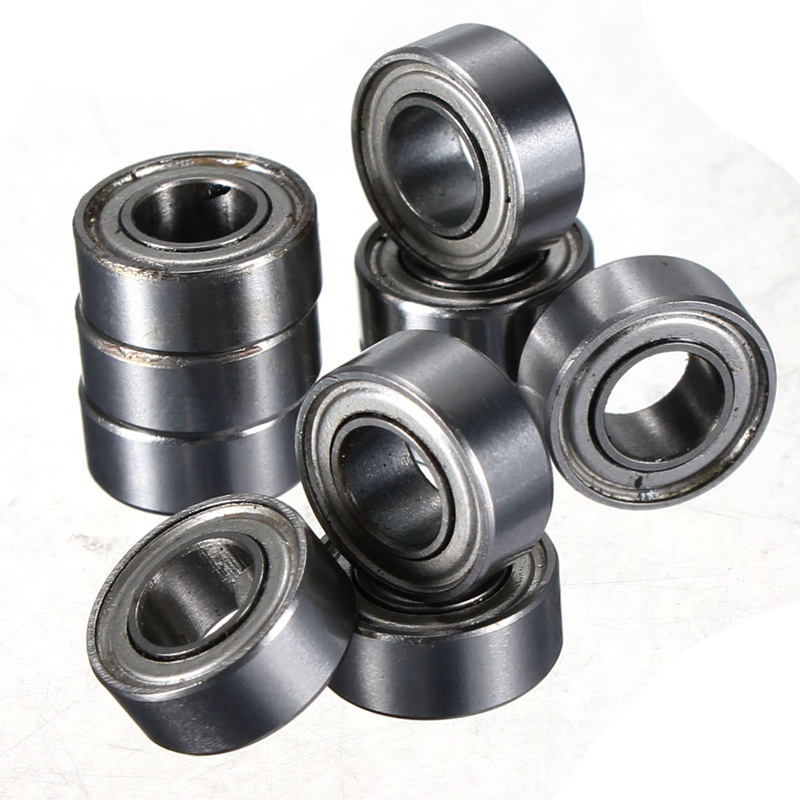 10pcs MR105 MR105ZZ Metal Sealed Shielded Miniature Mini Bearing Ball 5 x 10 x 4mm Deep groove ball bearings 10pcs 5x10x4mm metal sealed shielded deep groove ball bearing mr105zz