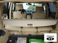 Auto rear trunk cargo cover for Touran 2007 2014 , auto accessories