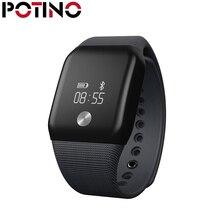 Potino A88 Смарт-часы браслет сердечного ритма Мониторы крови кислородом спортивные часы-телефон калорий Шаг счетчик часы для Для мужчин Для женщин
