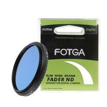 FOTGA Slim מדעך ND מצלמה מסנן 58 mm מתכוונן משתנה ניטרלי צפיפות ND2 כדי ND400