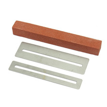 Guitar Fret Wire Sanding Stone Protector Kit FretWire Polishing Beam DIY Luthier Tool