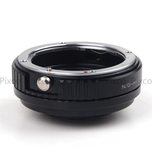 Image 4 - Pixco N.G M 4/3 Speed Booster Focal Reducer Lens Adapter Suit For Nikon F Mount G Lens to Suit for Micro Four Thirds 4/3 Camera