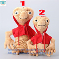 OHMETOY ET Plush Toys Extra Terrestrial Alien with Red Hoodie 22-28cm E.T Stuffed Baby Dolls Kids Birthday Gift