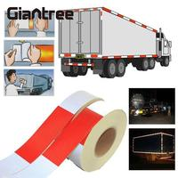 10pcs 5cm 300cm Reflective Tape Sticker Car Truck Styling 5cm 3m Reflective Film Safety Warning Tape