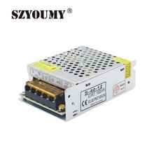 SZYOUMY AC110V 220 V переменного тока в постоянный 12В 3.2A 38 Вт импульсный трансформатор переключатель Питание адаптер драйвер для светодиодные Светодиодные ленты