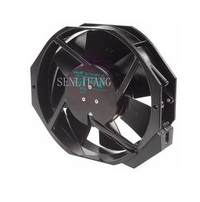 Free Shipping Original W2E142-BB05-01 115V 25W 17CM 17238 All-metal High Temperature Fan