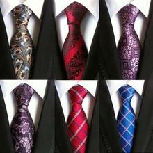 hot paisley tie for mens 100% silk neckties designers fashio