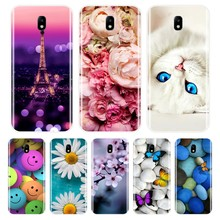 Phone Case For Samsung Galaxy J3 J4 J5 J6 J7 2016 2017 Soft Silicone Cute Cat Painted Back Cover For Samsung J2 J5 J7 Prime Case(China)