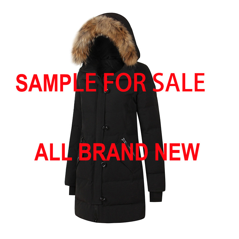 Canada Style Brand New Mens Womens Waterproof Waterproof Winter Warm Real Feather Down Coat CHATEAU Expedition Arctic PARKA
