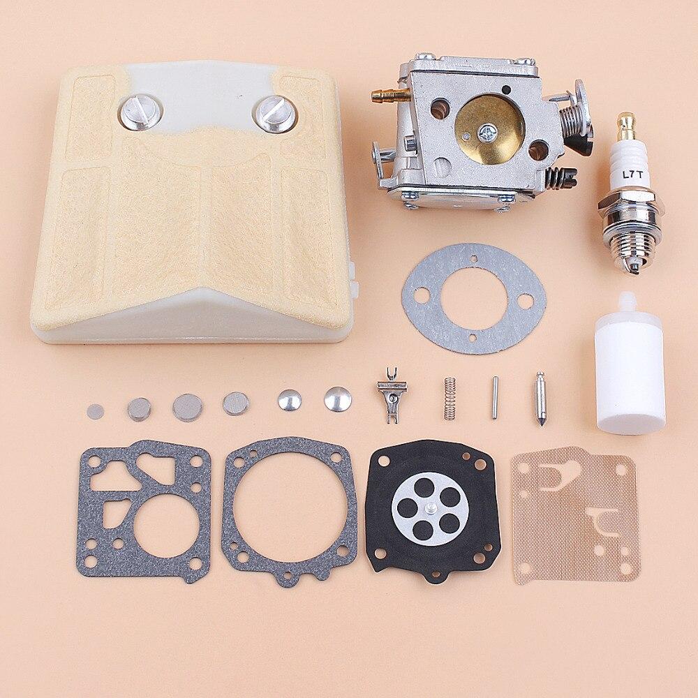 Carburetor Carb Air Filter Diaphragm Repair Kit Fit Husqvarna 61 66 266 503280316 Chainsaw Tillotson HS-254B Carburetor RK-23HS