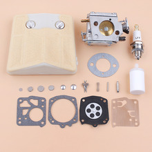 Kit de reparación de diafragma de filtro de aire de carburador compatible con Husqvarna 61 66 266 503280316, HS 254B de carburador de RK 23HS Tillotson