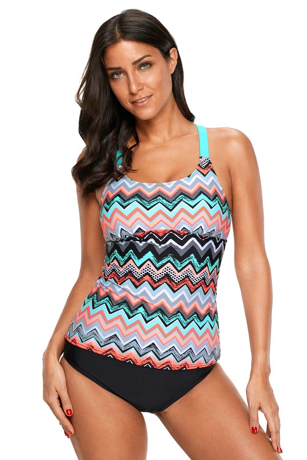 Womans Plus size 2X or 3X power mesh 2 piece Swim dress Bathing Suit