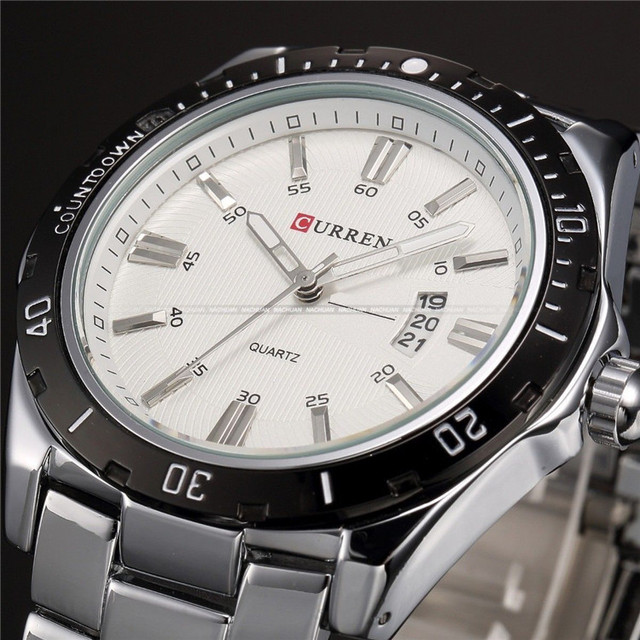 CURREN Steel Watch