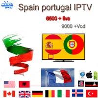 IPTV Subscription Portugal IPTV Spain France UK German Arabic Dutch Sweden French Poland Europe IPTV M3U Mag 6000 Live