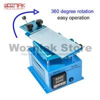 Wozniak Professional lcd repair machine in frame separator lcd cleaning glue with rotate plate for samsung edge screen repair