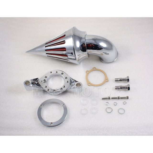 Peças da motocicleta Air Cleaner Filtros Kit Para Harley Davidson CV Carburador Chrome