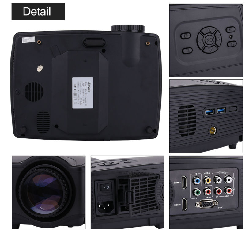 Everycom X9 LED 720P projectors (6)