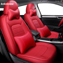 Kokololee หนังรถยนต์สำหรับ Volkswagen VW Passat B5 B6 B7 B8 2000 2007 ปี 2011 2019 ปีทำที่กำหนดเองรถที่นั่ง