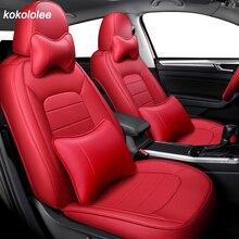 Kokololee מושב עור כיסוי עבור פולקסווגן פולקסווגן פאסאט b5 b6 b7 b8 2000 2007 שנה 2011 2019 שנים לעשות את מותאם אישית רכב מושבי