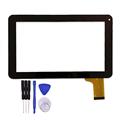 Nuovo per MF-358-090F-7 FPC 9 pollici Tablet PC Nero del Sensore Digitizer Touch Pannello Dello Schermo di parte di Ricambio Spedizione Gratuita