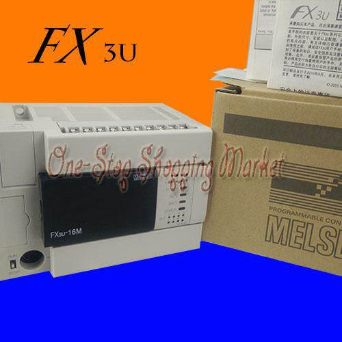 New Original Programmable Logic Controller FX3U-16MT- PLC Base Unit