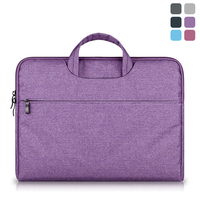 Portable Laptop Bag Case For Macbook Air Pro Retina 11 13 15 Zipper Bags Carry Pouch Cover For Asus Lenovo Notebook Soft Sleeve