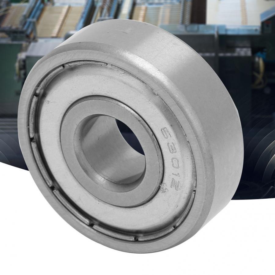 37 12mm Deep Groove Ball Bearings,10Pcs 6301-ZZ Sealing Bearing Steel Deep Groove Ball Bearing 12