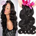 8A  Malaysian Virgin Hair 4 Bundles Malaysian Body Wave Human Hair Weave Virgin Malaysian Hair Bundles Human Hair Extensions