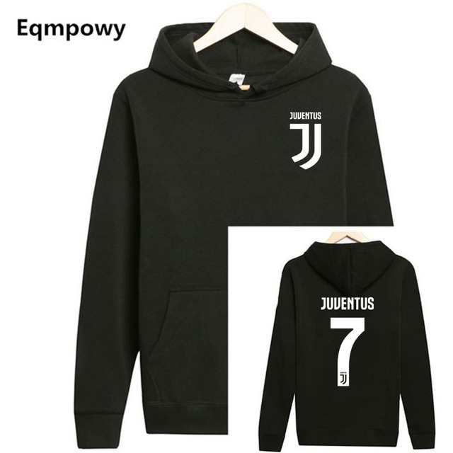 3ebd33247e5 Cristiano Ronaldo autumn Winter Cotton hoodies fashion Thicken CR7 Juventus  Ronald long sleeve Hooded pullover Sweatershirt