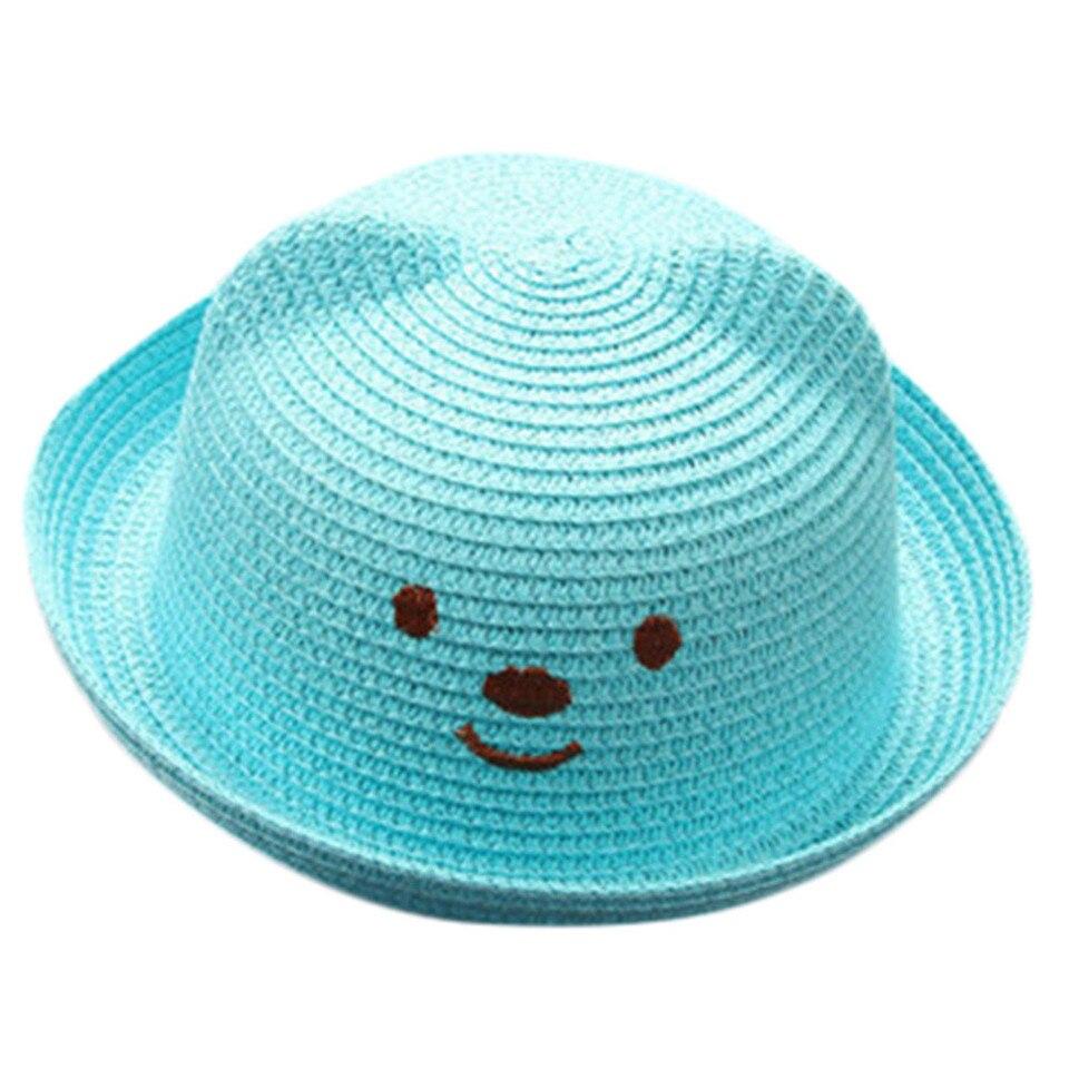 Summer Baby Hat Cap Children Breathable Hat Straw Hat Kids Hat Boy Girls Hats