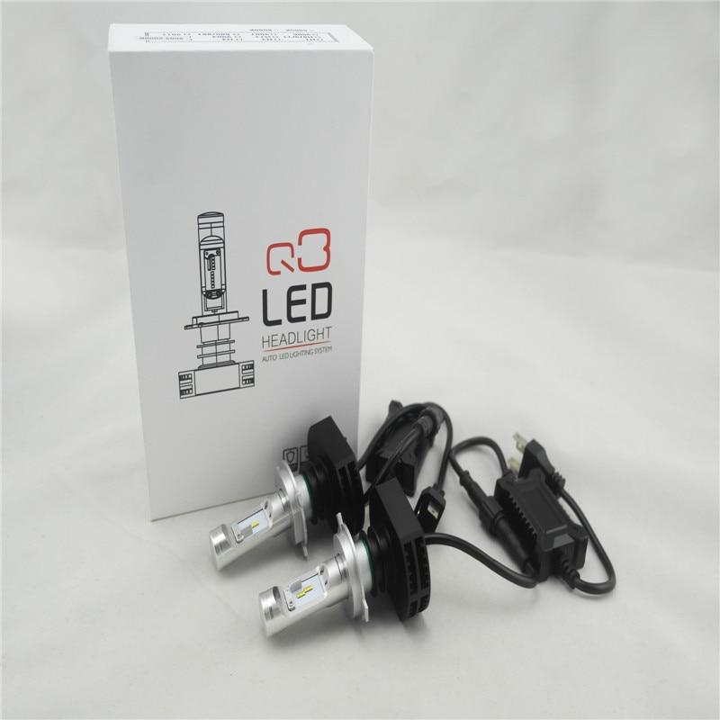 ФОТО H4 H7 LED Headlight H1 H3 H8 H11 9005 9006 880 9012 881 9004 H13 9007 60W Headlights Bulb Head Lamp Fog Light For BMW Audi