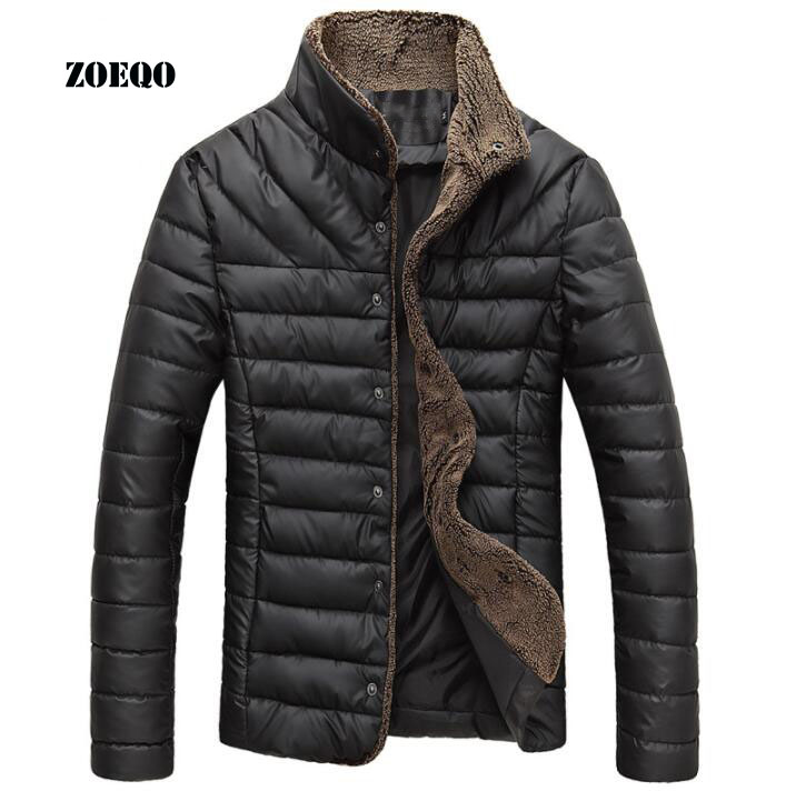 2019 New parka men winter long jacket cotton thick male high quality Casual fashion Warm parkas