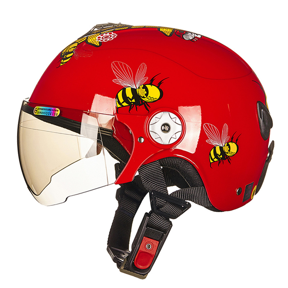 ZEUS Children Kids Open Face Motorcycle Helmet Youth Scooter Capacetes aberto de Motociclista Moto 10875 Helmets for Motorcycle