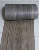 2 piezas L: 2 5 metros ancho: 30CM grosor: 0 25mm Estilo Vintage americano chapa de nogal negro chapa de madera|Accesorios para muebles| |  -