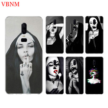Sister Nun Black New Phone Back Case For OnePlus 7 Pro 6 6T 5 5T 3 3T 7Pro 1+7 Art Gift Patterned Customized Cases Cover Coque