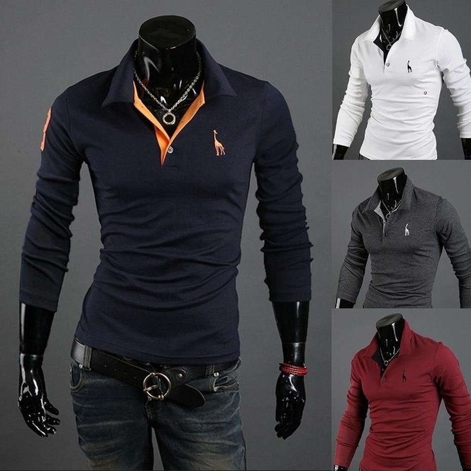 ZOGAA   Polo   Shirt Men Short Sleeve Casual Mens Shirts Camisa   Polo   Giraffe Soft Feel Quality Man   Polos