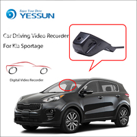 YESSUN Car DVR Digital Video Recorder for Kia Sportage Front Camera Dash HD 1080P Not Reverse Parking Camera