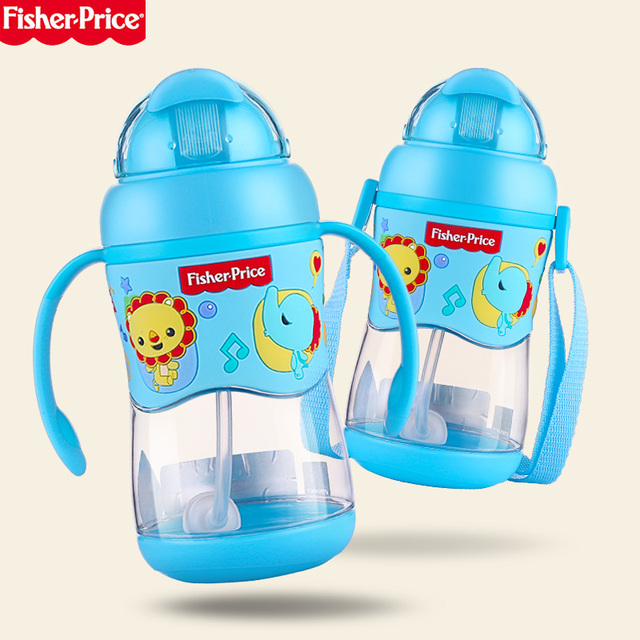400ML Children\'s Feeding Straw Cup Learn Drinking Cup Baby Bottle ...